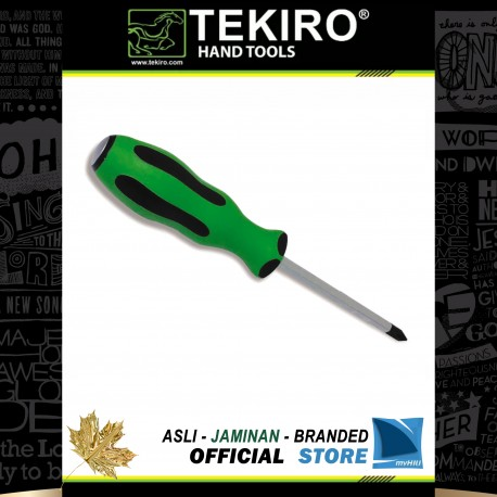 Obeng TPR Ketok (+) Plus / TPR Go-Thru Screwdriver