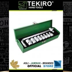 """Kunci Sock Set 1/2"""" DR 10 Pcs (Kotak Besi) - Socket Set 1/2"""" 10 Pcs"""