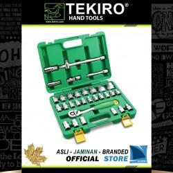 """Kunci Sock Set 1/2"""" DR 32 Pcs (Kotak Plastik) - Socket Set 1/2"""" 32 Pcs"""