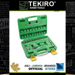 """Kunci Sock Set 1/4"""" DR 41 Pcs (Kotak Plastik) - Socket Set 1/4"""" 41 Pcs"""