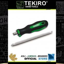 Obeng Bolak Balik TPR (+/-) 6 x 125 mm / TPR 2 Way Screwdriver
