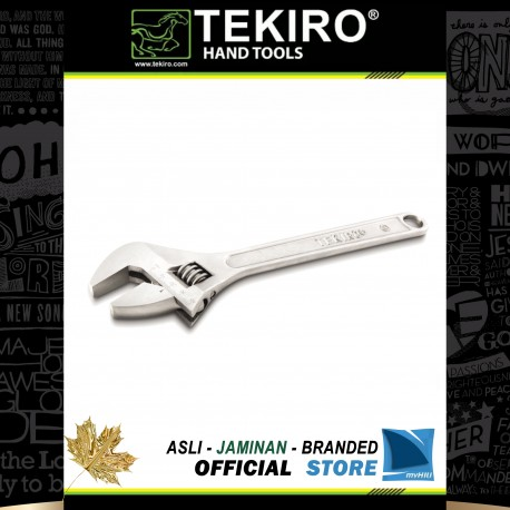 Kunci Inggris / Adjustable Wrench (Chrome)
