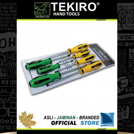 Obeng Set Tembus TPR 7 Pcs / TPR Go Thru Screwdriver Set 7 Pcs
