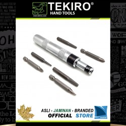Obeng Ketok Set Mini 7 Pcs / Mini Impact Driver & Extractor Set 7 Pcs