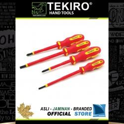 Obeng Kelistrikan Set 4 Pcs / Insulations Screwdriver Sety