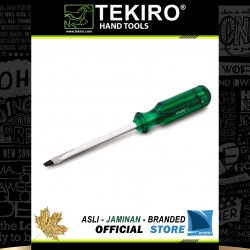 Obeng Ketok Tembus Hijau (-) Minus / Go-Thru Green Handle Screwdriver